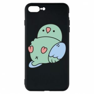 Phone case for iPhone 8 Plus Parrot fell