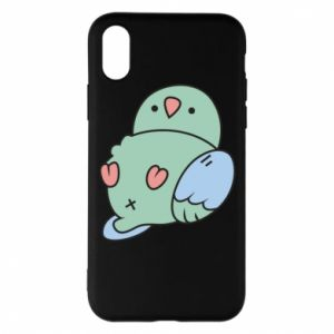 Phone case for iPhone X/Xs Parrot fell