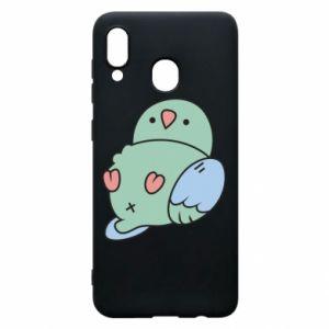 Phone case for Samsung A20 Parrot fell