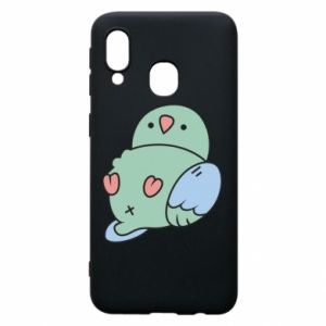 Phone case for Samsung A40 Parrot fell