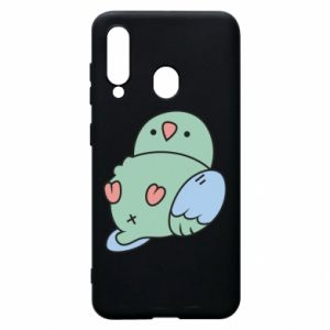 Phone case for Samsung A60 Parrot fell