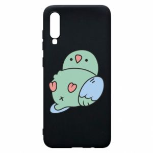 Phone case for Samsung A70 Parrot fell