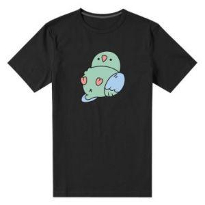 Męska premium koszulka Parrot fell