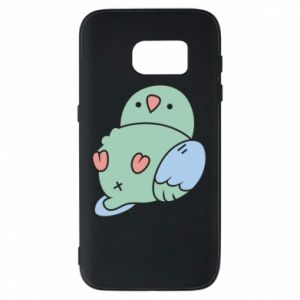 Phone case for Samsung S7 Parrot fell