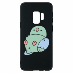 Phone case for Samsung S9 Parrot fell