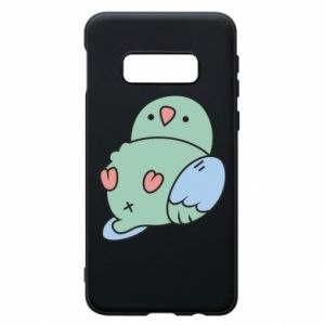 Phone case for Samsung S10e Parrot fell