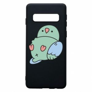 Phone case for Samsung S10 Parrot fell