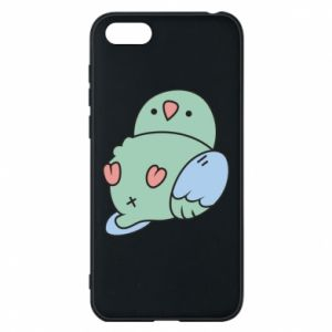 Phone case for Huawei Y5 2018 Parrot fell