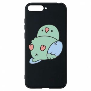 Phone case for Huawei Y6 2018 Parrot fell