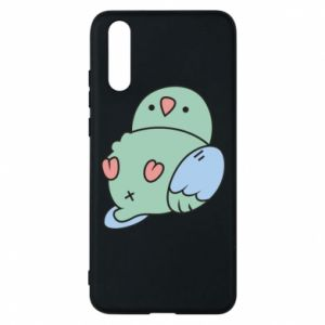 Phone case for Huawei P20 Parrot fell