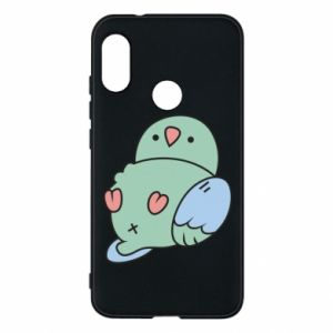 Phone case for Mi A2 Lite Parrot fell