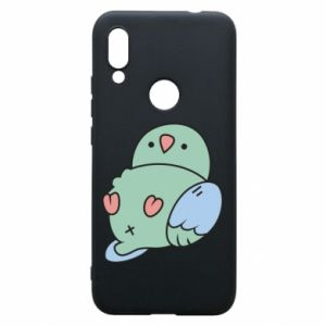 Phone case for Xiaomi Redmi 7 Parrot fell