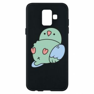 Phone case for Samsung A6 2018 Parrot fell