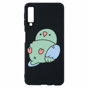 Phone case for Samsung A7 2018 Parrot fell