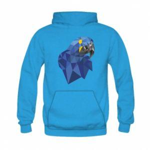 Bluza z kapturem dziecięca Parrot graphics