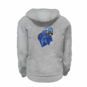 Bluza na zamek dziecięca Parrot graphics