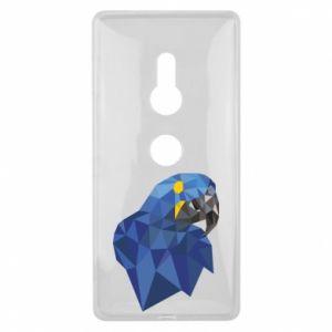 Etui na Sony Xperia XZ2 Parrot graphics