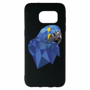 Etui na Samsung S7 EDGE Parrot graphics