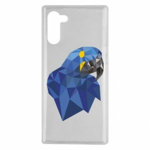 Etui na Samsung Note 10 Parrot graphics