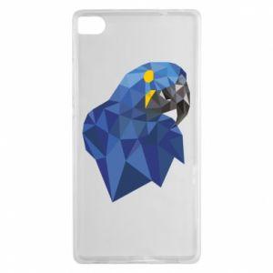 Etui na Huawei P8 Parrot graphics