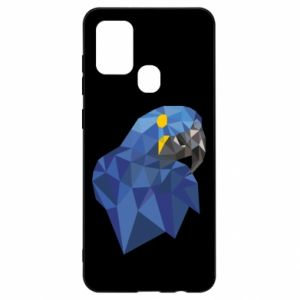 Etui na Samsung A21s Parrot graphics