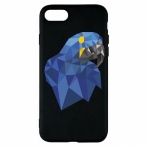 Etui na iPhone SE 2020 Parrot graphics