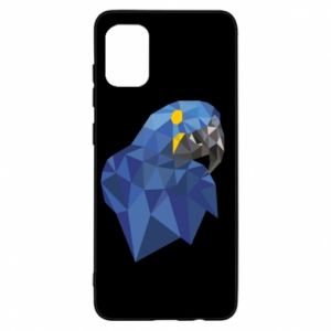 Etui na Samsung A31 Parrot graphics