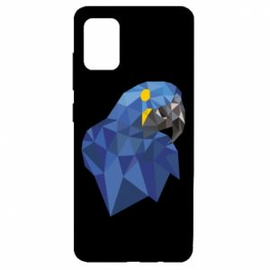 Etui na Samsung A51 Parrot graphics