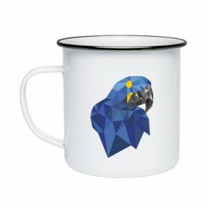 Kubek emaliowany Parrot graphics