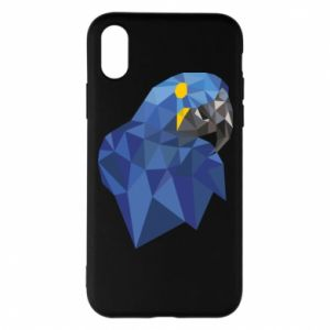 Etui na iPhone X/Xs Parrot graphics