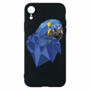 Etui na iPhone XR Parrot graphics