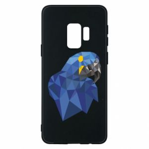 Etui na Samsung S9 Parrot graphics