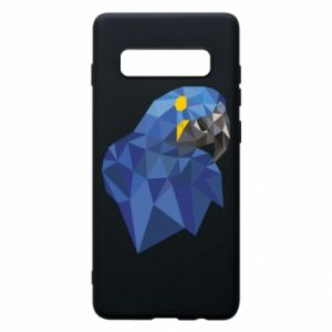 Etui na Samsung S10+ Parrot graphics