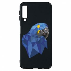 Etui na Samsung A7 2018 Parrot graphics