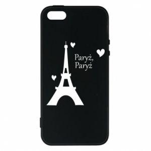 Etui na iPhone 5/5S/SE Paryż, Paryż
