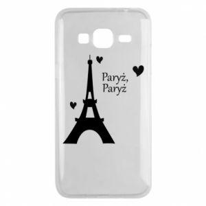 Etui na Samsung J3 2016 Paryż, Paryż