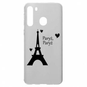 Samsung A21 Case Paris, Paris
