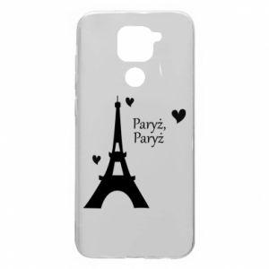 Xiaomi Redmi Note 9 / Redmi 10X case % print% Paris, Paris