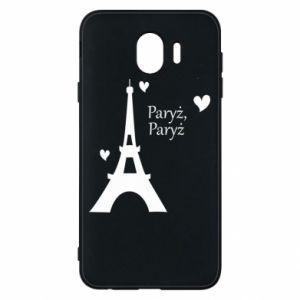 Etui na Samsung J4 Paryż, Paryż