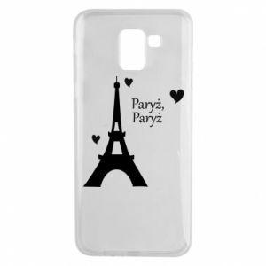 Etui na Samsung J6 Paryż, Paryż