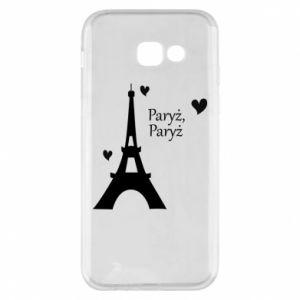 Etui na Samsung A5 2017 Paryż, Paryż