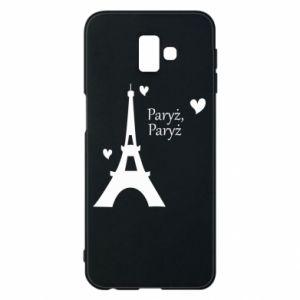 Etui na Samsung J6 Plus 2018 Paryż, Paryż