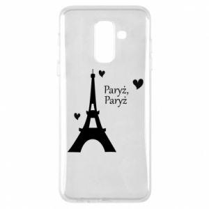 Etui na Samsung A6+ 2018 Paryż, Paryż