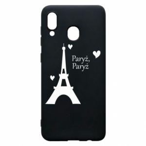 Etui na Samsung A20 Paryż, Paryż