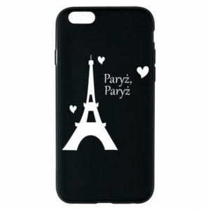 Etui na iPhone 6/6S Paryż, Paryż