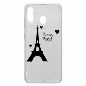 Etui na Samsung A30 Paryż, Paryż