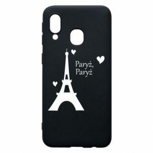 Samsung A40 Case Paris, Paris