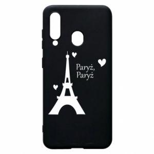 Etui na Samsung A60 Paryż, Paryż