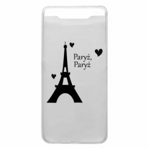 Etui na Samsung A80 Paryż, Paryż