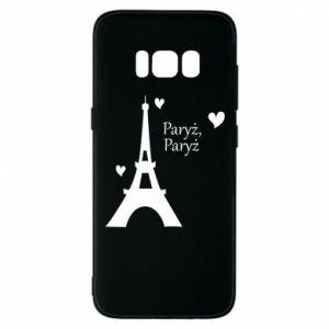 Etui na Samsung S8 Paryż, Paryż